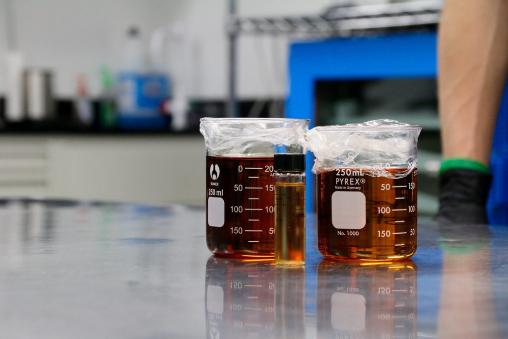 Creating cannabis extractions allows for precisely dosed edibles.
