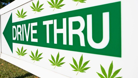 Colorado town caters to the lazy with  its first drive-thru pot shop