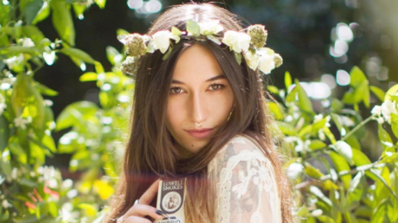 Naturally, weed floral crowns will be for sale near Coachella