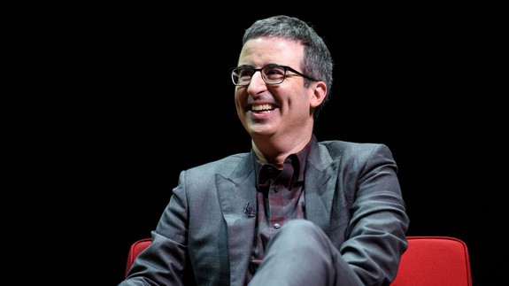 John Oliver, along with his sick tiger leather jacket, dismantles federal marijuana laws