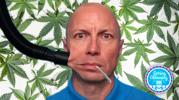 Weed makes some people clean like crazy, but scientists don't really know why