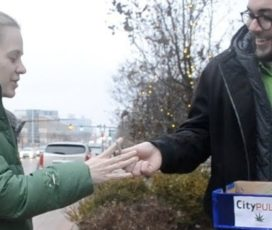 City paper hands out free joints to celebrate marijuana legalization in Michigan