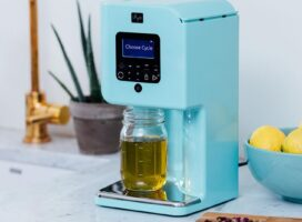 Spruce up your countertop — and your butter — with an herbal infuser on sale