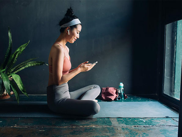 Take workout classes, guided meditations, and more — all from home.