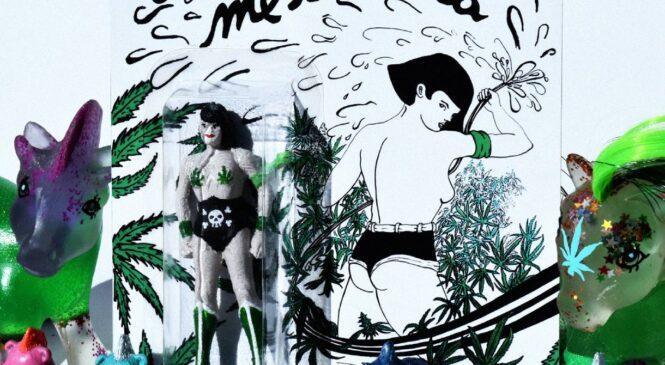 Art Toys & Marihuana: Conocé al Baby Yoda Porrero y a la Wonder Woman Femininja