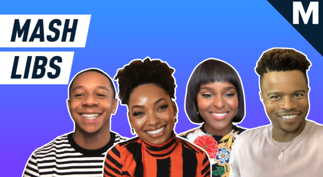 Watch the cast of 'Dear White People' remix the plot of their show
