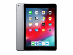 "Apple iPad 6th Gen 9.7"" 128GB - Space Gray (Refurbished: WiFi Only) — $335.99"