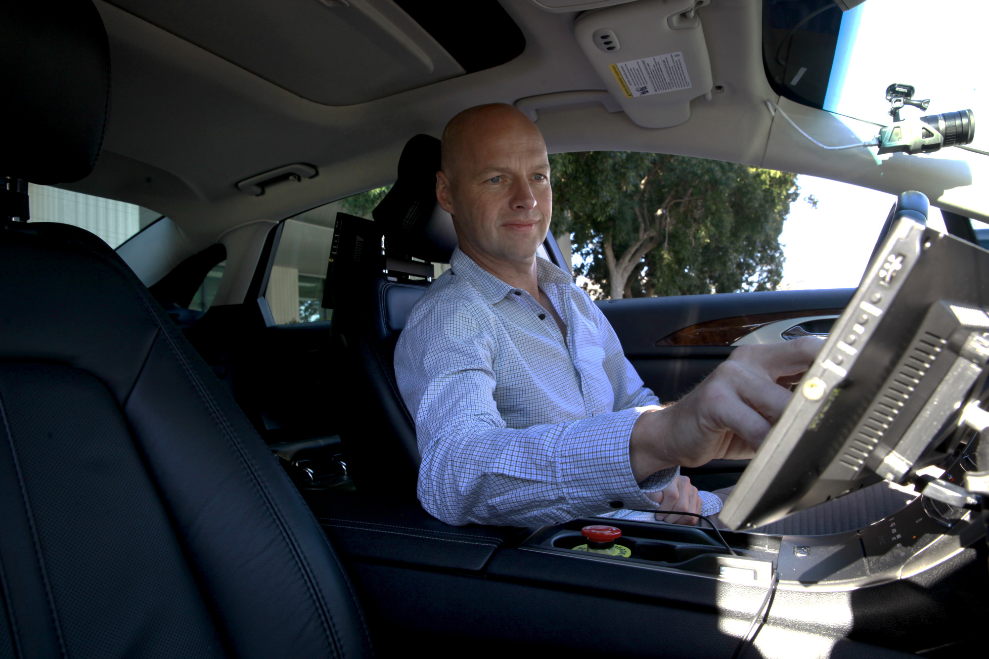 Sebastian Thrun, self-driving car pioneer, Udacity co-founder, and perpetual Silicon Valley optimist.